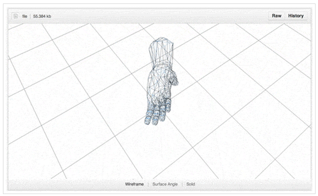 Web-based STL Viewing: Three js, WebGL, and Javascript Typed